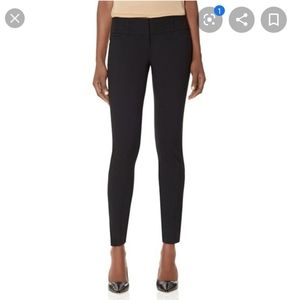 Limited Black Exact Stretch Skinny Ankle Zipper